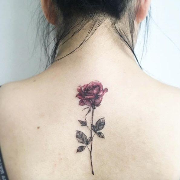 Hình Xăm Hoa Hồng đẹp Nhất (1)