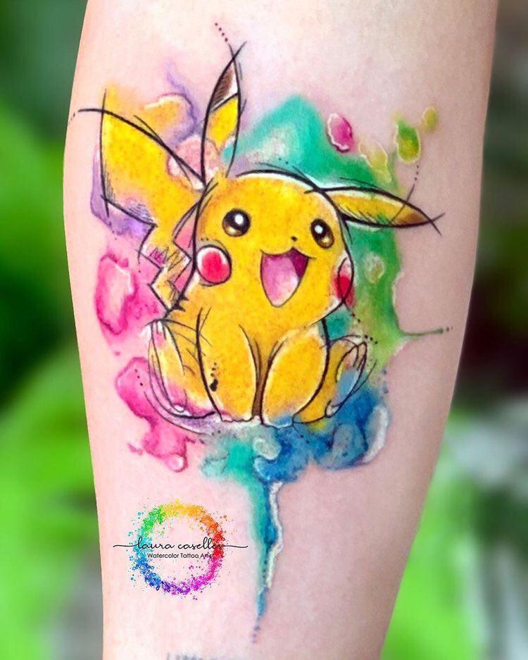 Bộ Sưu Tập 1001+ Hình Xăm Pikachu Siêu Cute được ưa Chuộng Nhất