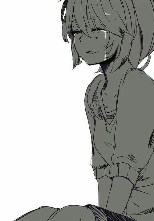 ảnh Anime Khóc (2)