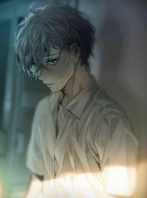 Hình ảnh Anime Khóc (30)