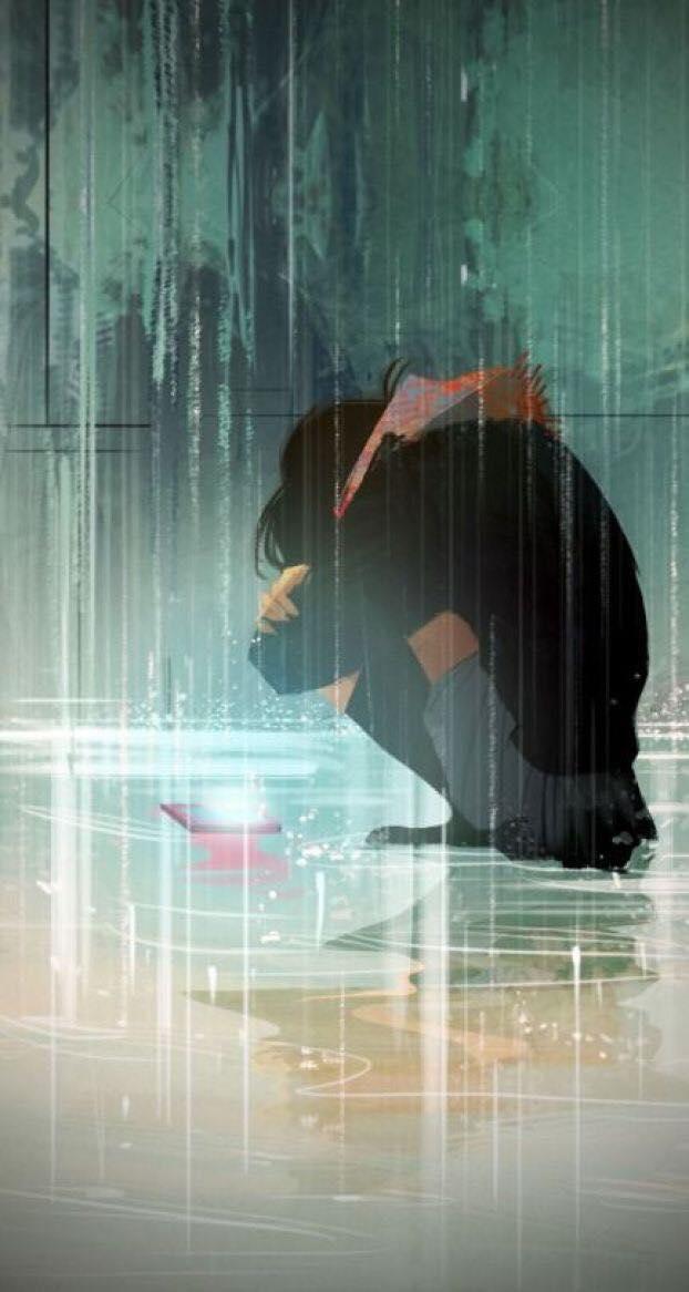Hình ảnh Anime Khóc (32)