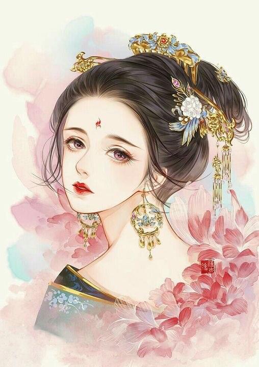 Hình Xăm Cô Gái Trung Hoa đẹp (1)