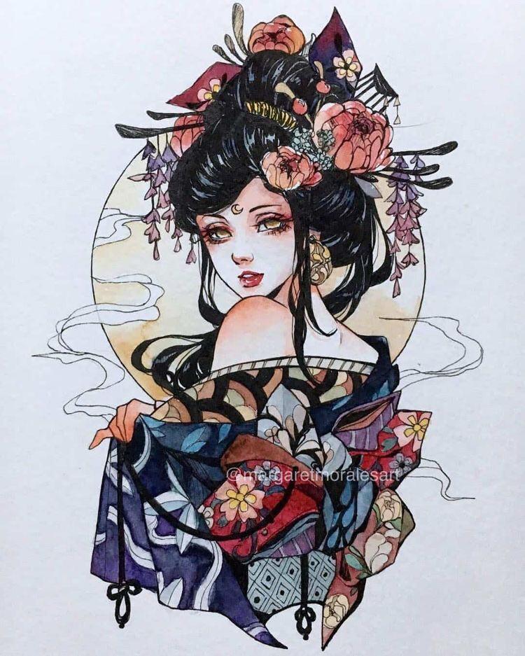 Hình Xăm Cô Gái Trung Hoa đẹp (5)