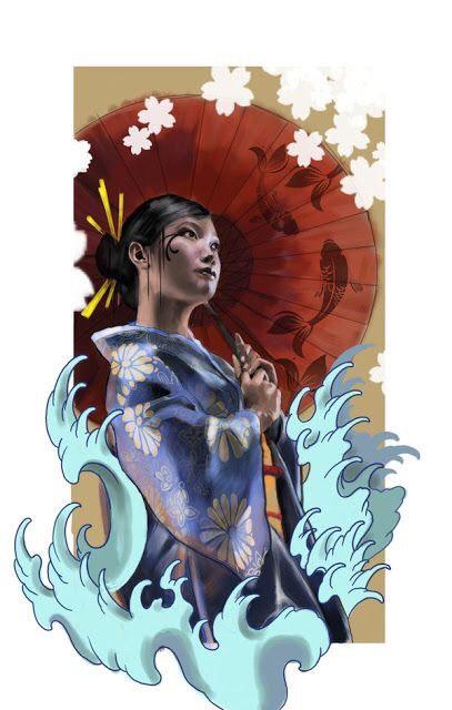 Hình Xăm Cô Gái Trung Hoa đẹp, ấn Tượng (9)
