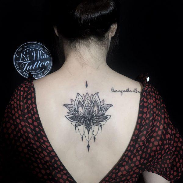 Hình Xăm Hoa Mandala (11)