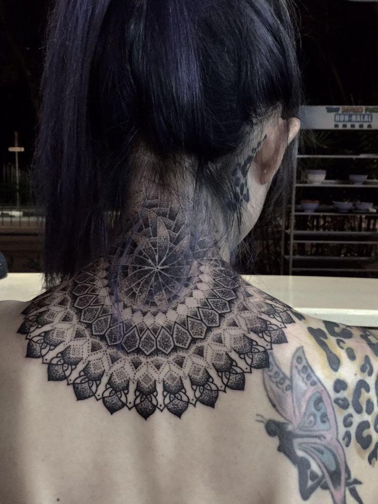 Hình Xăm Hoa Mandala (32)