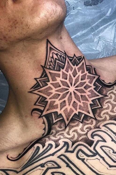 Hình Xăm Hoa Mandala (35)