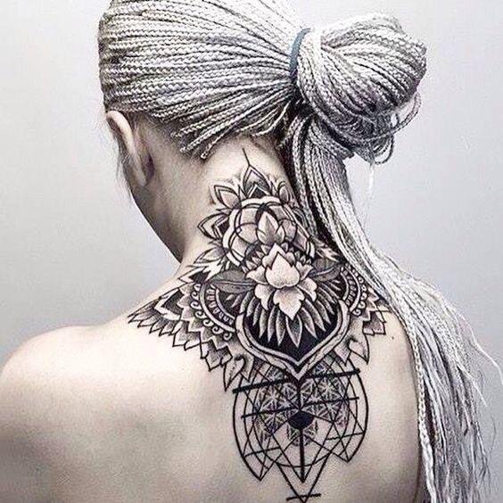Hình Xăm Hoa Mandala (41)