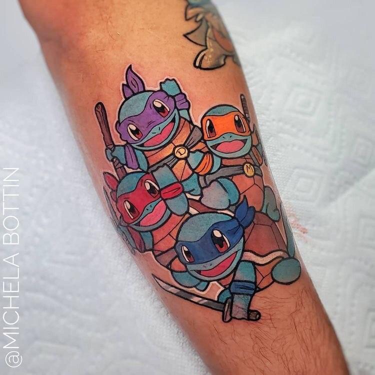 Hình Xăm Pikachu (7)