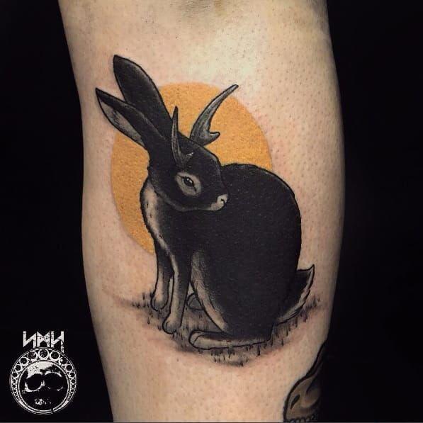 Hình Xăm Thỏ Playboy đẹp (7)