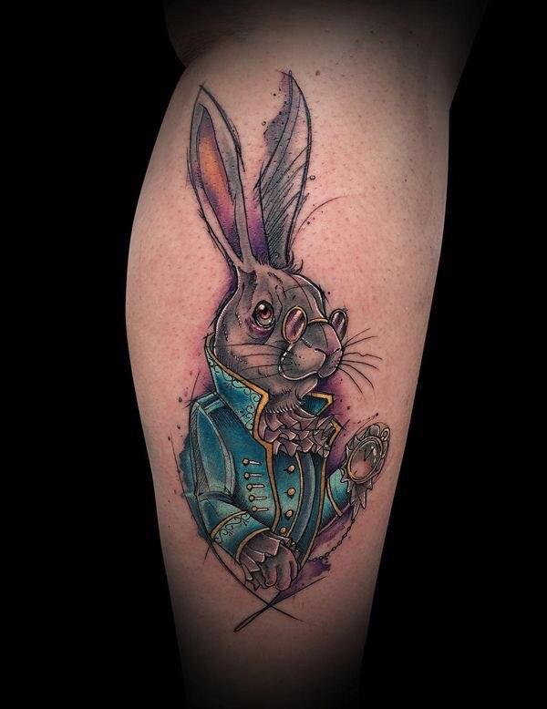 Hình Xăm Thỏ Playboy đẹp (8)
